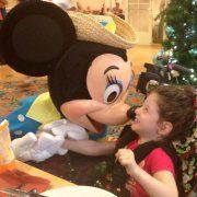 Lillian and Minnie at Disney