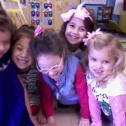 Lillian with Friends