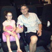 Lillian and Blake at Movies