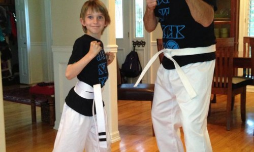 The Dynamic Karate Duo