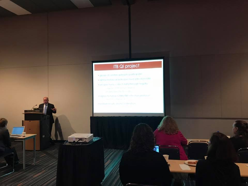 Dr. Robert Bollo of the University of Utah presents on his quality improvement protocol for CPRN