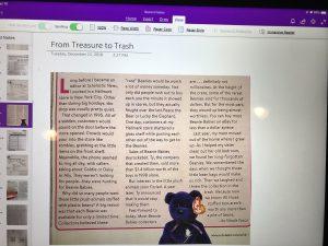 Helping Maya Access Visual Information--Reading & Academic Access Tools- 3
