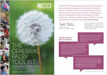 The Cerebral Palsy Toolkit Postcard