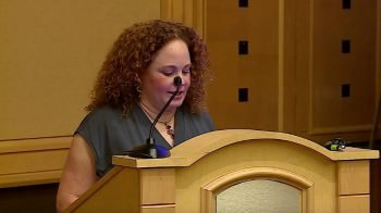 Michele Shusterman Speaking at AACPDM, Community Education