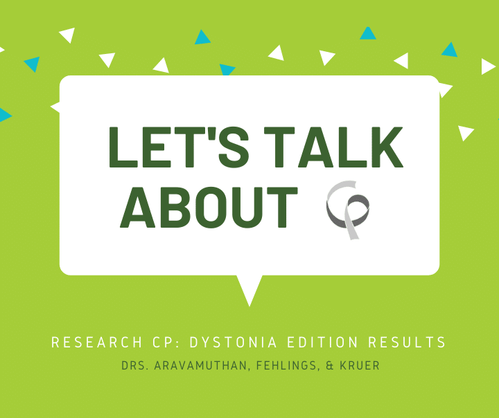 Research CP Dystonia Edition