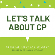 A preview image linking to blog post 'Webinar: Cerebral Palsy and Epilepsy'
