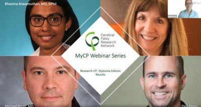 MyCP Webinar Series: Research CP: Dystonia Edition Results