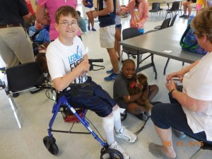 Cerebral Palsy and Recreation, Ben Perry