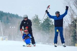 Adaptive Sports Enables Participation in Sports like skiing