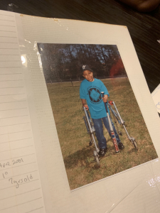 As a young boy, Marquise wanted to do the same activities as other kids his age but also knew his circumstances were different